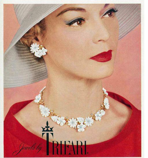 flower jewelry ad