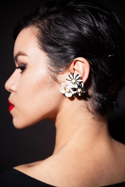 sip beau jewels flower earrings