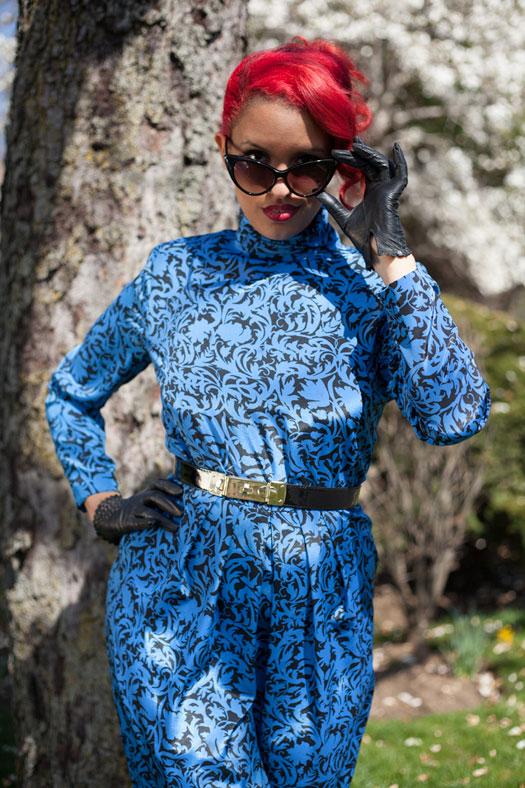 sip blue-spring-dress